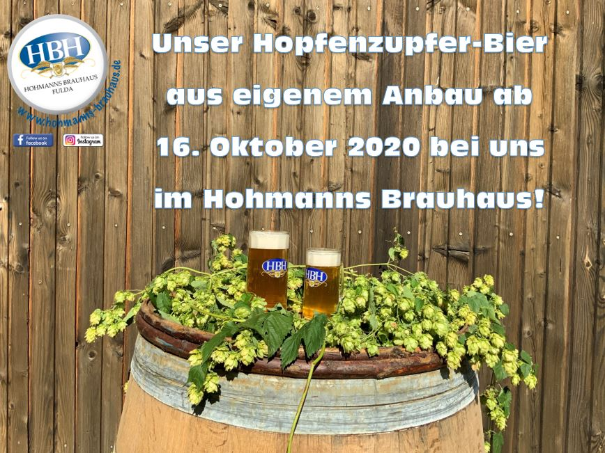 Hopfenzupfer-Bier